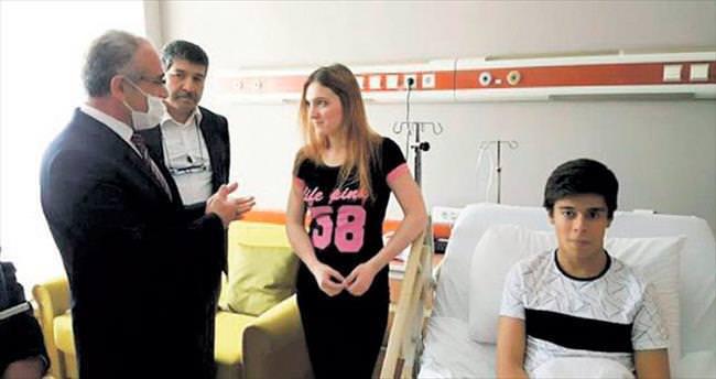 Hastane odasında modern Leyla ve Mecnun hikâyesi