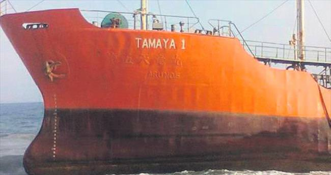64 metrelik hayalet gemi karaya vurdu
