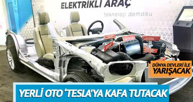 Yerli oto Tesla'ya kafa tutacak