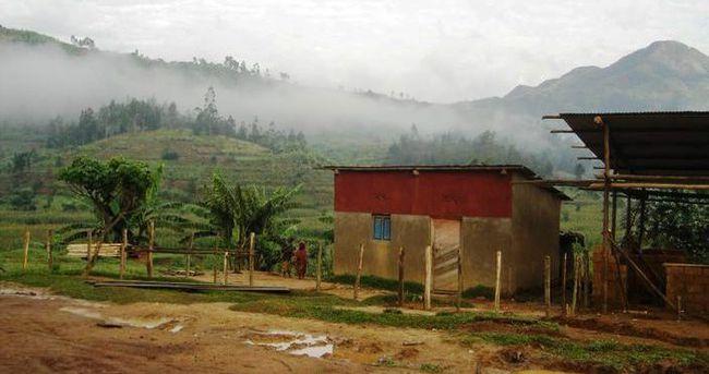 Ruanda'da toprak kayması
