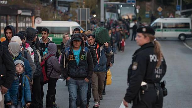 Almanya'ya nisanda 15 bin 941 sığınmacı girdi