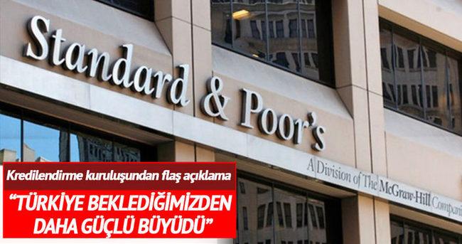 Standard & Poor's'tan Türkiye itirafı