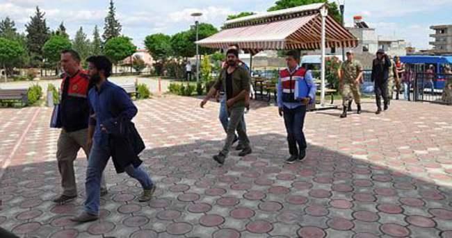 Gaziantep'te PKK operasyonu: 54 gözaltı