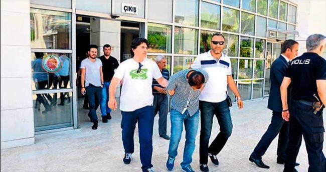 Taciz davasında tutuklama kararı