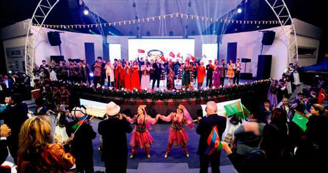 Türk Kültür Başkenti Şeki'de görkemli açılış