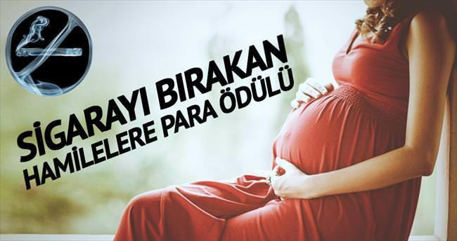 Sigarayı bırakan hamilelere 300 euroluk teşvik