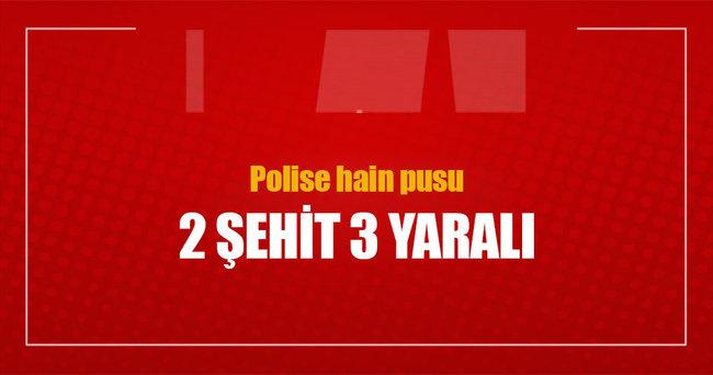 Van'da hain tuzak: 2 polis şehit, 3 polis yaralı