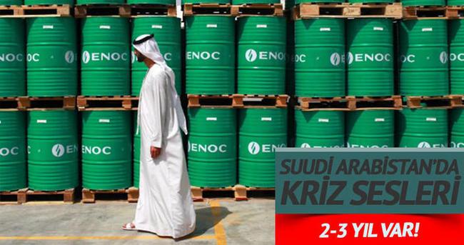 Suudi Arabistan'da krizin ayak sesleri