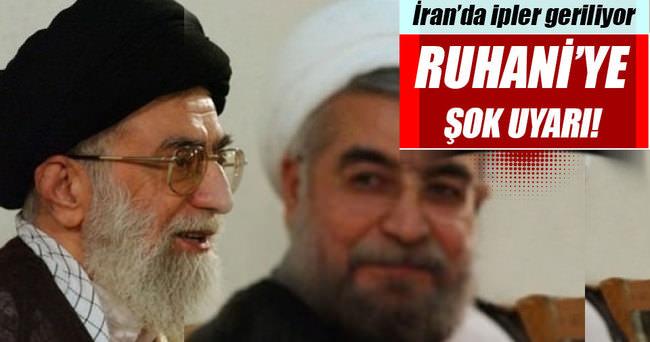 İran Yargı Erki Başkanı, Ruhani'yi uyardı