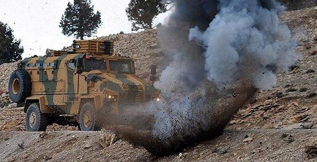 Mardin'de bombalı saldırıda 5 asker yaralandı!