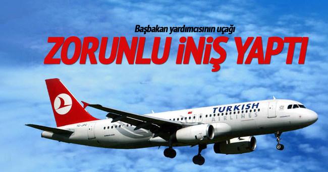 Mehmet Şimşek'in uçağı zorunlu iniş yaptı