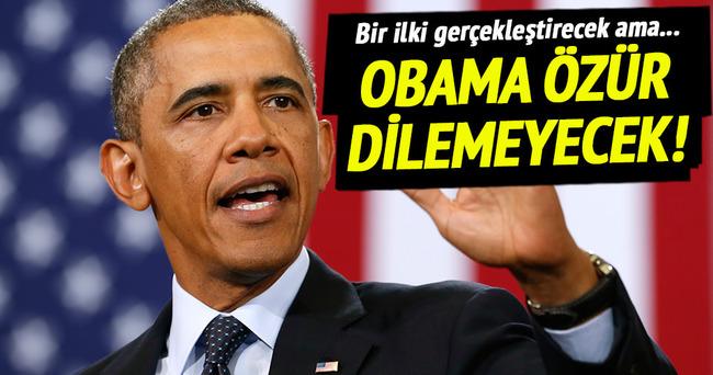 Obama Hiroşima için özür dilemeyecek!