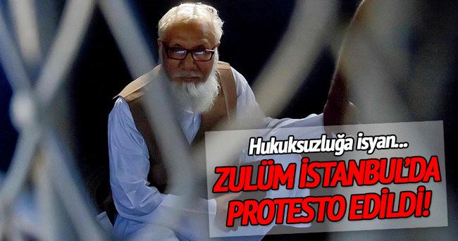Nizami'nin idamı İstanbul'da protesto edildi!