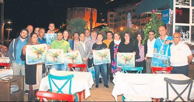 Acente temsilcileri Alanya'da mutlu
