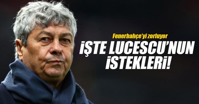 Lucescu'yu istiyorsanız pamuk eller cebe