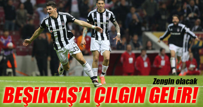 Beşiktaş'a çılgın gelir: 167 Milyon TL