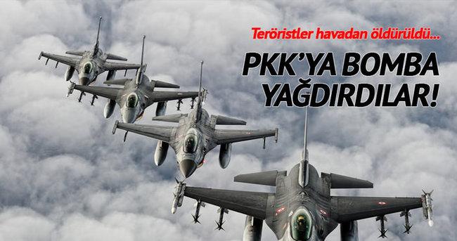 PKK'ya hava harekatı yapıldı