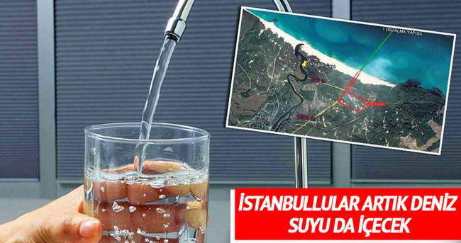 İstanbullular deniz suyu içecek