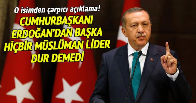Erdoğan hariç hiçbir Müslüman lider idamlara 'dur' demedi