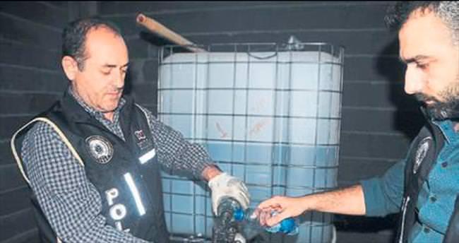Adana polisinden kaçak içki operasyonu