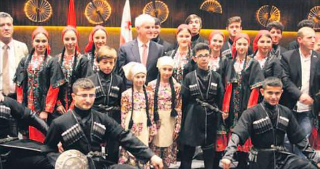 Gürcistan'a başkentte milli gün kutlaması