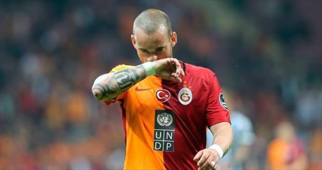 Sneijder lig maçlarında yok