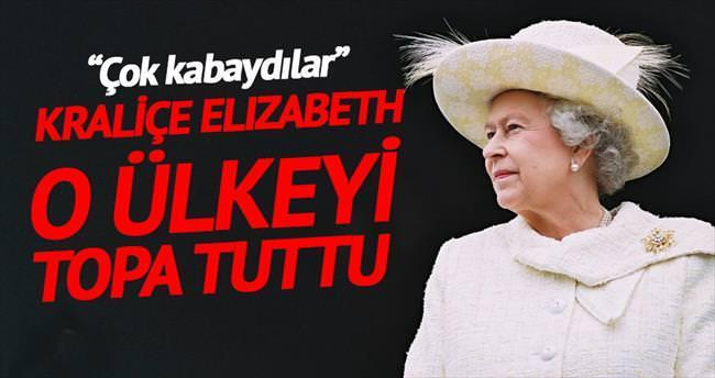 Kraliçe, Çin heyeti için çok kabalar dedi