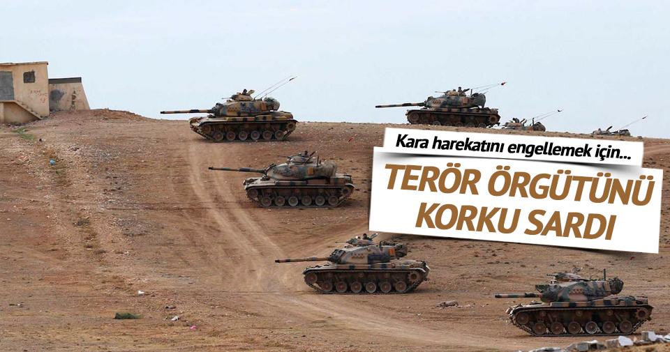 TSK'nın sınır ötesi operasyonunu engellemek için mayın döşediler
