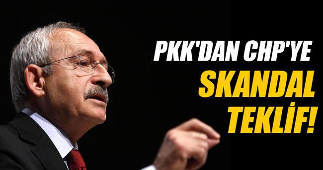 PKK'dan CHP'ye skandal teklif
