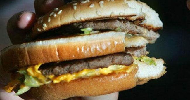 Hamburgerde insan ve fare DNA'sı bulundu