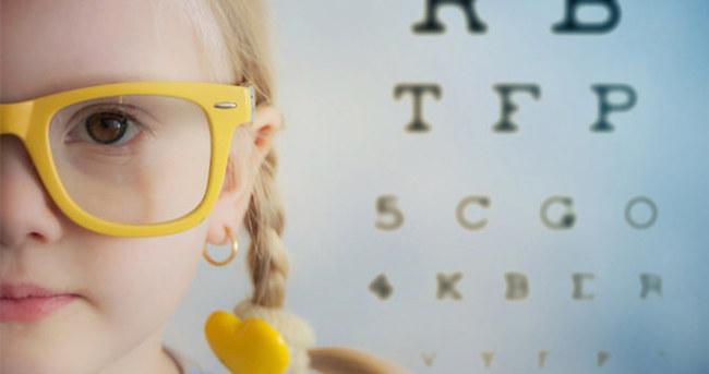 Çocuğunuzun göz sağlığı için çok önemli