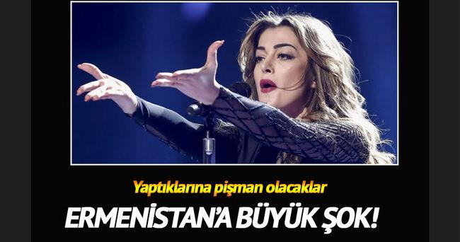 Eurovision'da Ermenistan ekibine ceza