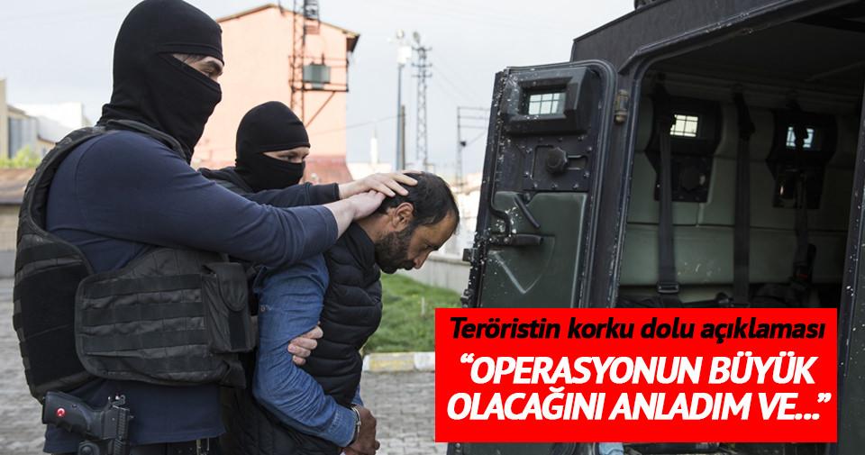 PKK'nın sözde sorumlusu: Korktum, kaçmak istedim
