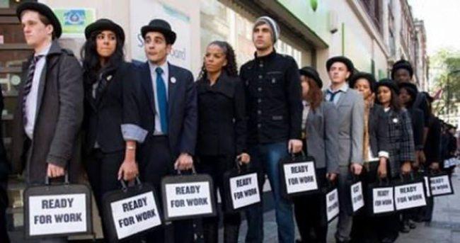 ABD'de işsizlik maaş başvuruları Şubat 2015'ten beri en yüksek seviyede