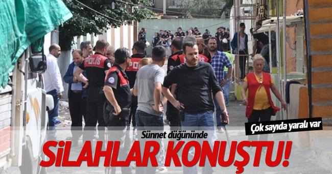 Sünnet düğünü silahlı kavgaya dönüştü: Çok sayıda yaralı var!