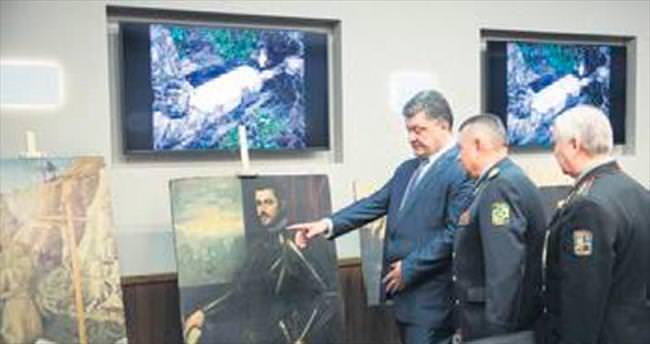 Çalınan tarihi eserler Ukrayna'da bulundu