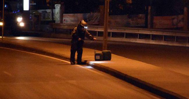 Beyoğlu'nda şüpheli bidon alarmı