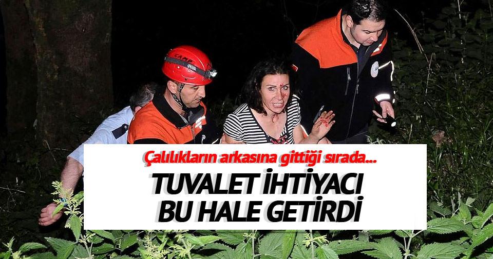 Bursa'da dört kişi dereye düştü