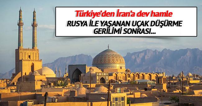 Türkler'den İran'da dev hamle!