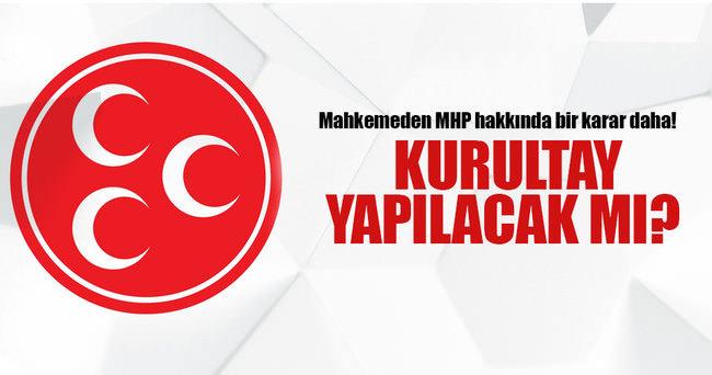 MHP hakkında bir karar daha!