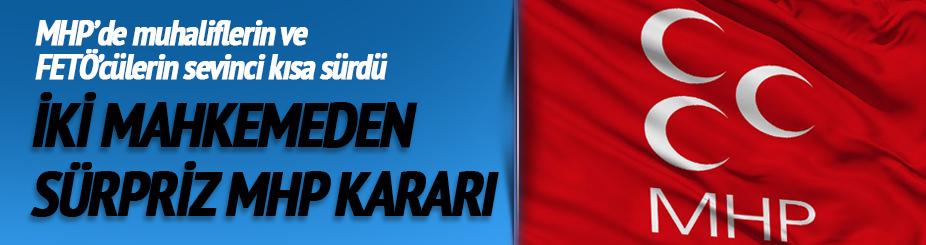 Yerel mahkeme: MHP kongresi yapılamayacak