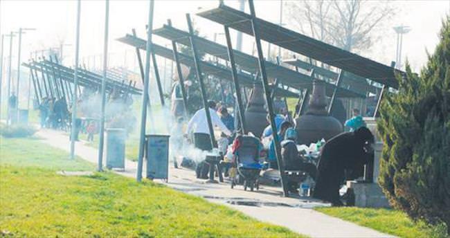 Piknikçilere yangın uyarısı