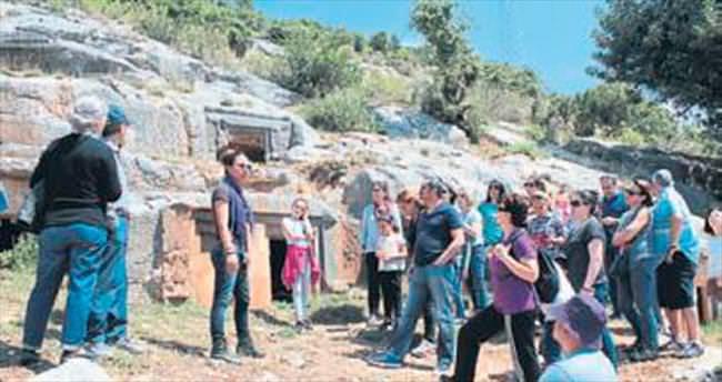 Portakal Atölyesi Limyra'yı gezdi