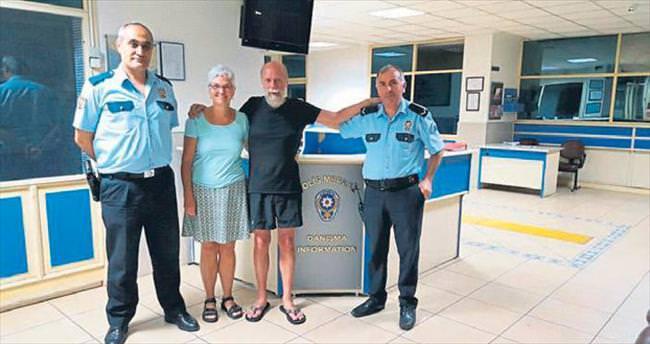 Alkollü turist 2 gün kayboldu