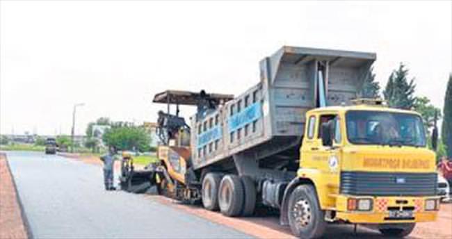 Yenigöl mahallesi asfalt yol yapıldı