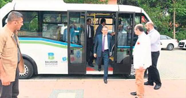 Gönen'e yeni toplu taşıma araçları