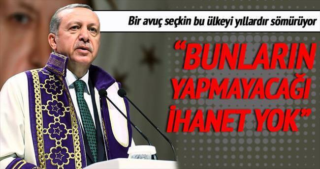 Eski Türkiye elitlerinin yapmayacağı ihanet yok