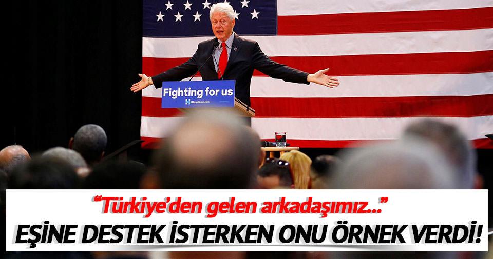 Bill Clinton Hamdi Ulukaya'yı örnek verdi