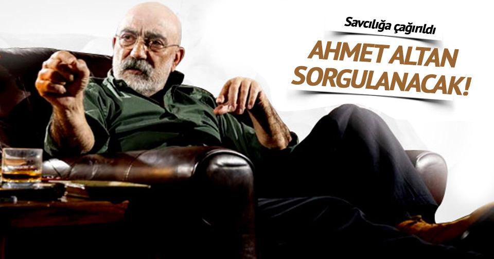 Ahmet Altan'a Balyoz sorgusu