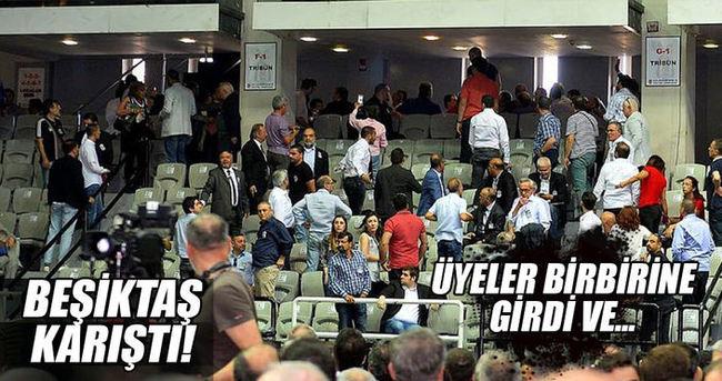 Beşiktaş kongresinde kavga